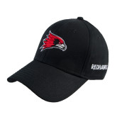 Black Heavyweight Twill Pro Style Hat-Redhawk Head