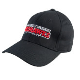 Black Heavyweight Twill Pro Style Hat-Southeast Missouri Redhawks