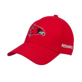 Red Heavyweight Twill Pro Style Hat-Redhawk Head