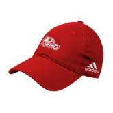 Bookstore Adidas Red Slouch Unstructured Low Profile Hat-SEMO Logo Embroidery
