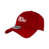 Bookstore New Era Red Diamond Era 39Thirty Stretch Fit Hat-SEMO Logo Embroidery