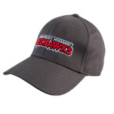 Charcoal Heavyweight Twill Pro Style Hat-Southeast Missouri Redhawks