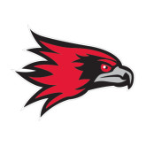 State Medium Magnet-Redhawk Head, 8 inches wide