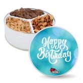 Bookstore Deluxe Mix Happy Birthday Tin-SEMO Logo Embroidery