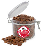 Bookstore Almond Bliss Round Canister-SEMO Logo Embroidery