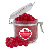 Bookstore Sweet & Sour Cherry Surprise Round Canister-SEMO Logo Embroidery