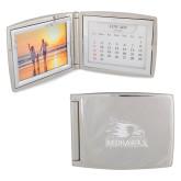 Bookstore Silver Bifold Frame w/Calendar-Redhawks Engraved