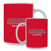 Bookstore Full Color White Mug 15oz-Grandma