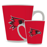 Bookstore Full Color Latte Mug 12oz-Hawk Head