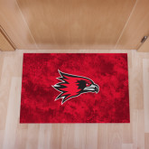 Full Color Indoor Floor Mat-Redhawk Head