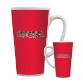 Full Color Latte Mug 17oz-Southeast Missouri Redhawks