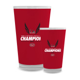 Bookstore Full Color Glass 17oz-2017 OVC Mens Outdoor Track and Field Champions