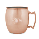 Bookstore Copper Mug 16oz-Hawk Head Engraved
