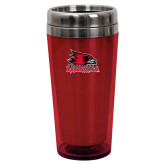 Bookstore Solano Acrylic Red Tumbler 16oz-Primary Logo