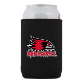 Bookstore Neoprene Black Can Holder-Primary Logo