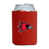 Collapsible Red Can Holder-Redhawk Head