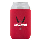 Neoprene Red Can Holder-2017 OVC Mens Outdoor Track and Field Champions
