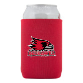 Bookstore Neoprene Red Can Holder-Primary Logo
