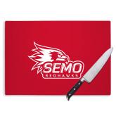 Bookstore Cutting Board-SEMO Logo with Redhawks