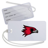 Bookstore Luggage Tag-Hawk Head