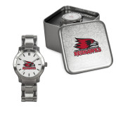 Bookstore Ladies Stainless Steel Fashion Watch-Primary Logo