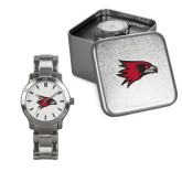 Bookstore Ladies Stainless Steel Fashion Watch-Hawk Head
