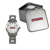 Bookstore Ladies Stainless Steel Fashion Watch-Southeast Missouri Redhawks