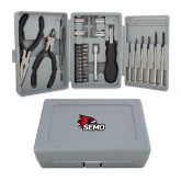 Bookstore Compact 26 Piece Deluxe Tool Kit-SEMO Logo Embroidery