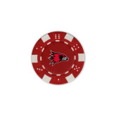 Bookstore Red Game Chip-Hawk Head