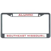 Alumni Metal License Plate Frame in Black-Alumni