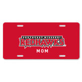 Bookstore License Plate-Mom