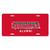 Bookstore License Plate-Alumni