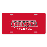 Bookstore License Plate-Grandma