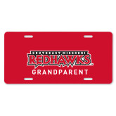 Bookstore License Plate-Grandparent