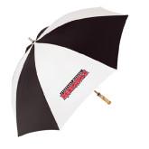 62 Inch Black/White Umbrella-Southeast Missouri Redhawks