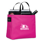 Bookstore Tropical Pink Essential Tote-Primary Logo