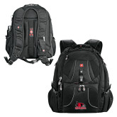 Bookstore Wenger Swiss Army Mega Black Compu Backpack-Primary Logo