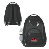 Bookstore The Ultimate Black Computer Backpack-Primary Logo