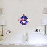 2 ft x 2 ft Fan WallSkinz-2017 AAC Conference Champions - Mens Basketball Arched Net