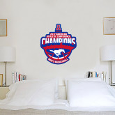 3 ft x 3 ft Fan WallSkinz-2017 AAC Conference Champions - Mens Basketball Arched Shadow