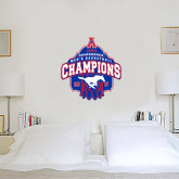3 ft x 3 ft Fan WallSkinz-2017 AAC Conference Champions - Mens Basketball Arched Net