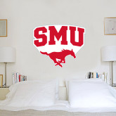 4 ft x 4 ft Fan WallSkinz-SMU w/Mustang