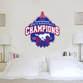 4 ft x 4 ft Fan WallSkinz-2017 AAC Conference Champions - Mens Basketball Arched Net
