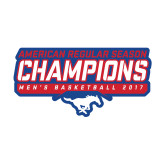 Medium Decal-2017 AAC Regular Season Champions - Mens Basketball Stencil