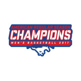 Small Decal-2017 AAC Regular Season Champions - Mens Basketball Stencil