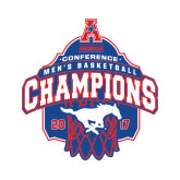 Small Decal-2017 AAC Conference Champions - Mens Basketball Arched Net, 6 in tall