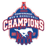 Extra Large Decal-2017 AAC Conference Champions - Mens Basketball Arched Net, 18 in tall