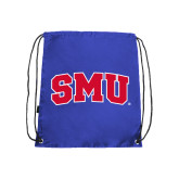 Royal Drawstring Backpack-Block SMU