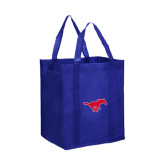 Non Woven Royal Grocery Tote-Official Outlined Logo