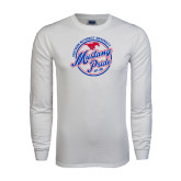 White Long Sleeve T Shirt-Mustang Pride
